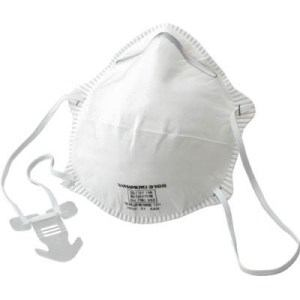 TRUSCO 使い捨て式防じんマスク DS2 10枚入