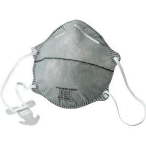 TRUSCO 使い捨て式防じんマスク DS2 活性炭入 10枚入