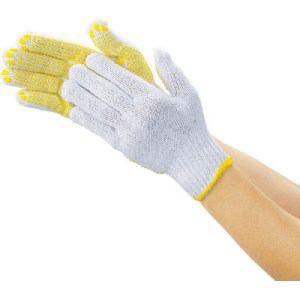 TRUSCO 一般作業用すべり止め手袋厚手 12双組 フリーサイズ