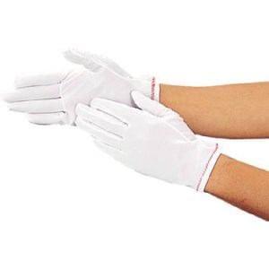 TRUSCO 低発塵縫製手袋 Mサイズ