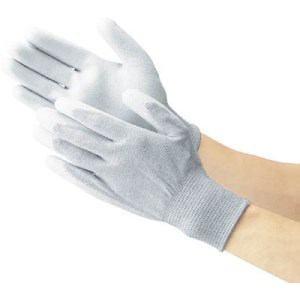 TRUSCO 手のひらコート静電気対策用手袋 Sサイズ
