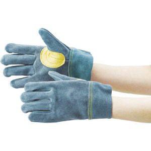 TRUSCO オイル加工革手袋 当て付 フリーサイズ