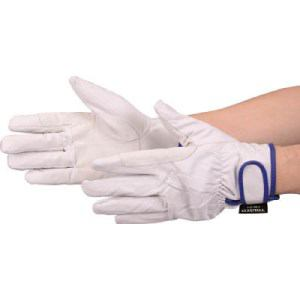 TRUSCO マジック式防寒豚本革手袋 当て付タイプ LLサイズ