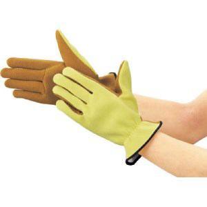 TRUSCO ザイロン耐切創手袋 すべり止めタイプ Lサイズ