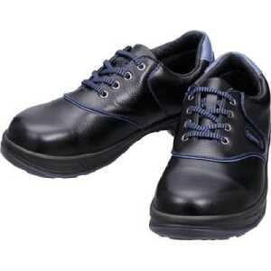 シモン 安全靴 短靴 SL11-BL黒/ブルー 27.0cm