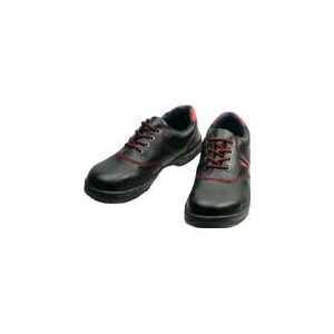シモン 安全靴 短靴 SL11-R黒/赤 25.5cm