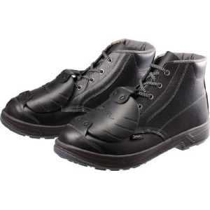 シモン 安全靴甲プロ付 編上靴 SS22D-6 27.5cm