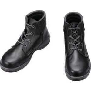 シモン 安全靴 編上靴 7522黒 25.0cm