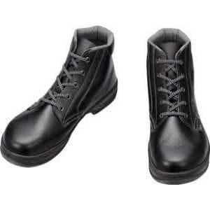 シモン 安全靴 編上靴 SS22黒 23.5cm