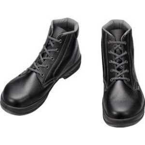 シモン 安全靴 編上靴 SS22黒 24.5cm