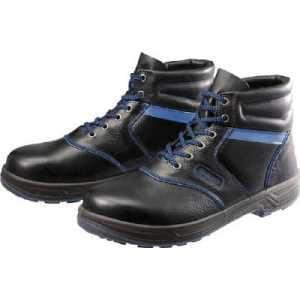 シモン 安全靴 編上靴 8522黒 24.5cm