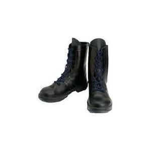 シモン 安全靴 長編上靴 8533黒 24.0cm