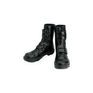 シモン 安全靴 マジック式 8538黒 23.5cm