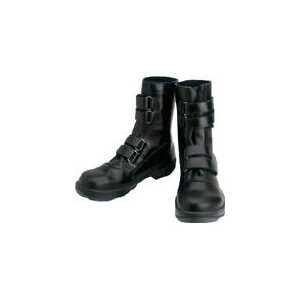 シモン 安全靴 マジック式 8538黒 25.5cm