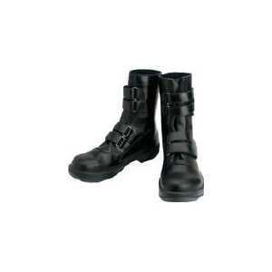 シモン 安全靴 マジック式 8538黒 27.5cm