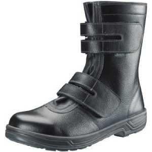 シモン 安全靴 長編上靴マジック式 SS38黒 24.5cm