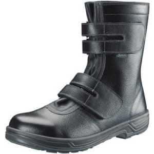シモン 安全靴 長編上靴マジック式 SS38黒 26.0cm