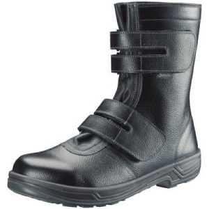 シモン 安全靴 長編上靴マジック式 SS38黒 27.0cm