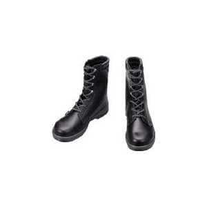 シモン 安全靴 長編上靴 7533黒 25.5cm