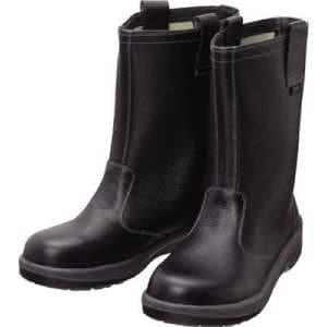 シモン 安全靴 半長靴 7544黒 23.5cm