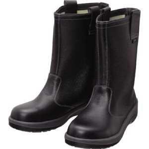 シモン 安全靴 半長靴 7544黒 24.0cm