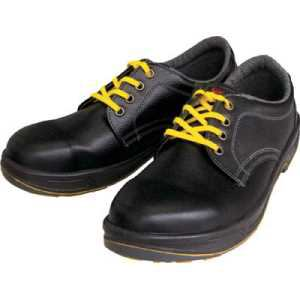 シモン 静電安全靴 短靴 SS11黒静電靴 24.0cm