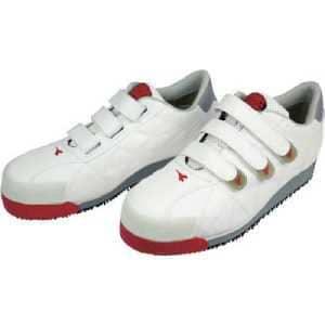 ディアドラ DIADORA 安全作業靴 アイビス 白 26.5cm