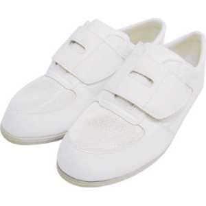 シモン 静電作業靴 メッシュ靴 CA-61 25.5cm
