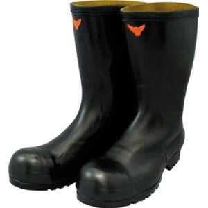 SHIBATA 安全耐油長靴(黒)