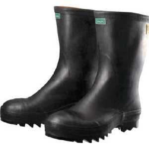 シモン 安全長靴 ソフタンブーツ 25.5cm