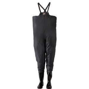 ロゴス クレモナ水産 胴付き長靴 鉄紺 24.5cm