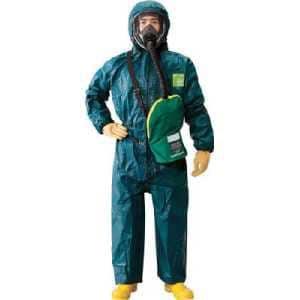 シゲマツ 使い捨て化学防護服 MC4000 XL