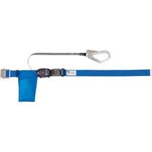 TRUSCO 巻取式安全帯 青 1本つり専用幅50mm