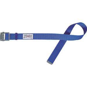 TRUSCO 安全帯1本つり専用替ベルト 幅50X長さ1200mm 青