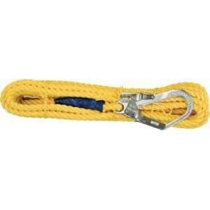 ツヨロン 昇降移動用親綱ロープ 10メートル