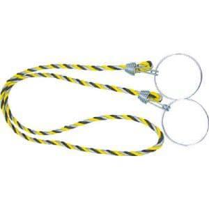 TRUSCO カラーコーン用ロープ 反射標識 12mmX2m