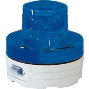 日動 電池式LED回転灯ニコUFO 常時点灯タイプ 青