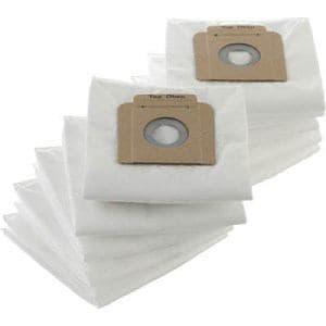 TRUSCO 合成繊維フィルターバック 10枚入