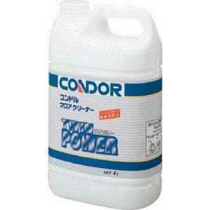 コンドル (床用洗剤)フロアクリーナー ツインパワー 4L