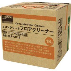 TRUSCO αコンクリートフロアクリーナー 18L