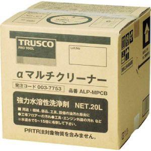 TRUSCO αマルチクリーナー 20L