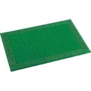 テラモト テラエルボーマット450×750mm緑