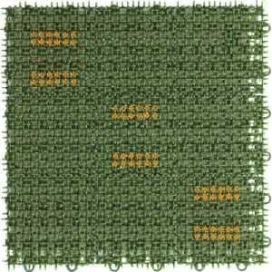 ワタナベ 人工芝 ブラッシングターフ 30cm×30cm グリーン