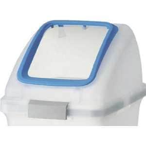 コンドル (屋内用屑入)リサイクルトラッシュ SKL-35(角穴蓋)青
