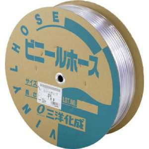 サンヨー 透明ホース12×16 50mドラム巻