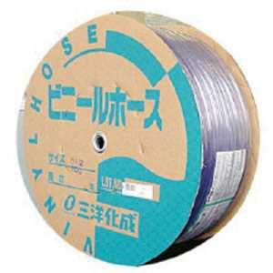 サンヨー 透明ホース4×6 100mドラム巻