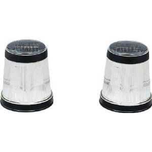 アイリスオーヤマ(IRIS) パルス式ソーラーライト 電球色