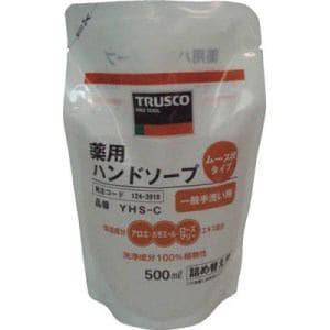 TRUSCO 薬用ハンドソープ ムース状 袋入詰替 500ml