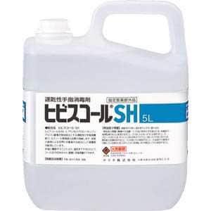 サラヤ 速乾性手指消毒剤 ヒビスコールSH 5L