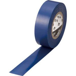 TRUSCO 脱鉛タイプ ビニールテープ 19X10m ブルー 1巻